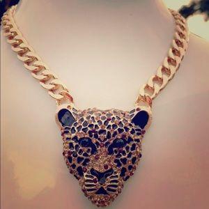 New Natasha B Jaguar Leopard Head Statement